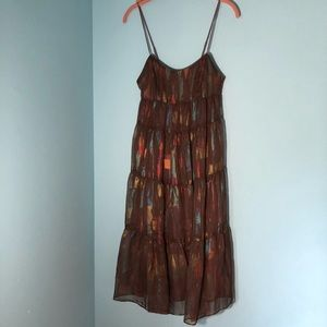 Urban outfitters ecotè midi dress SZ S